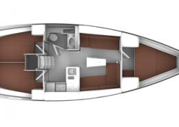 Bavaria 37 Cruiser Layout
