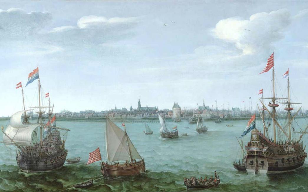 Windkracht 5 IJsselmeer