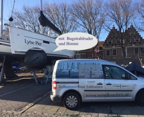 Bavaria Segeljacht Bugstrahl